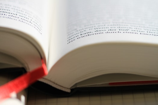 Free stock photo of blur, research, book, document