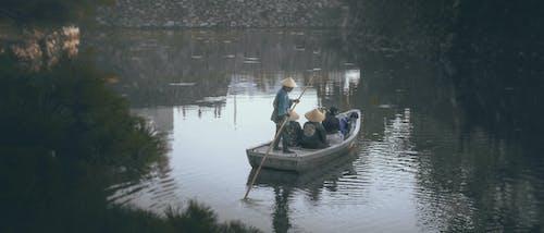Photos gratuites de bateau, cinématique, fleuve, japon