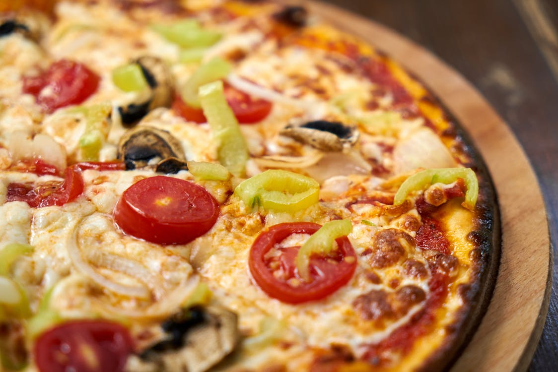 Close-Up Photo Of Pizza