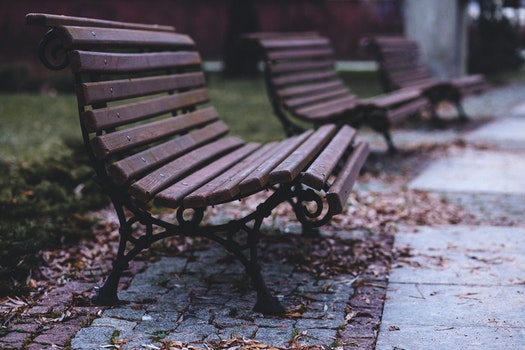 Free stock photo of outside, park, pavement, chairs