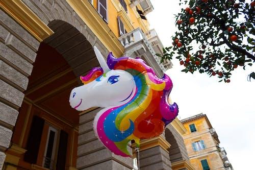 Foto d'estoc gratuïta de Dia del Pare, globus, unicorn