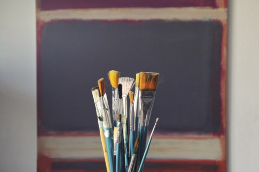 Free stock photo of wood, art, creative, brush