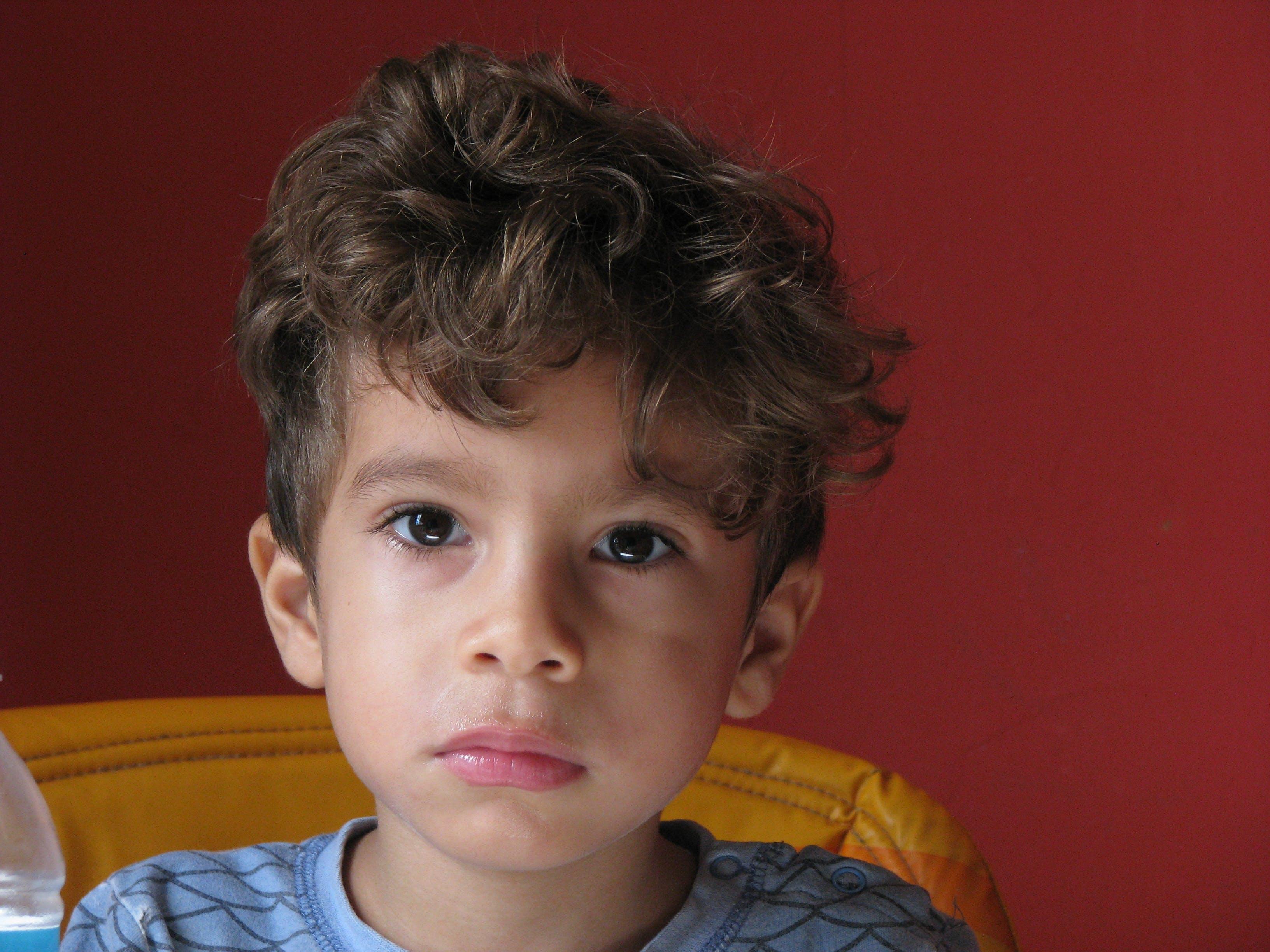 Free stock photo of beautiful, child, curly, eyes