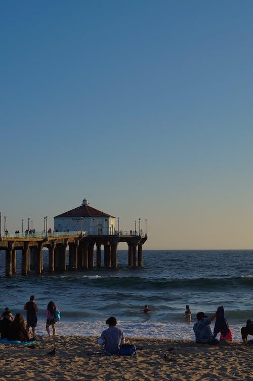 로스앤젤레스, 맑은 날, 부두, 블루의 무료 스톡 사진