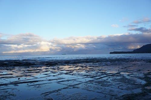Free stock photo of blue, by the sea, cloud, coast line