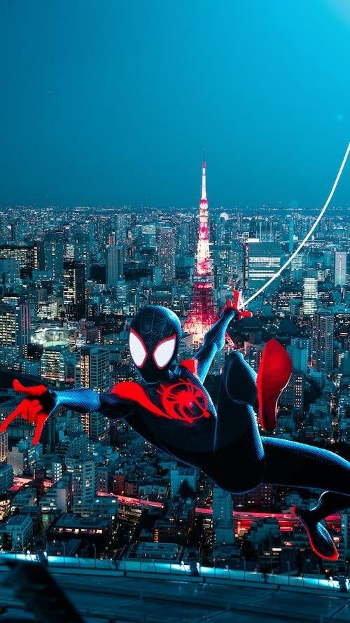 Fotobanka sbezplatnými fotkami na tému 4k tapety, avengers, pavúčí muž, pavúk