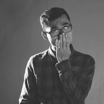 Free stock photo of black-and-white, fashion, man, sunglasses