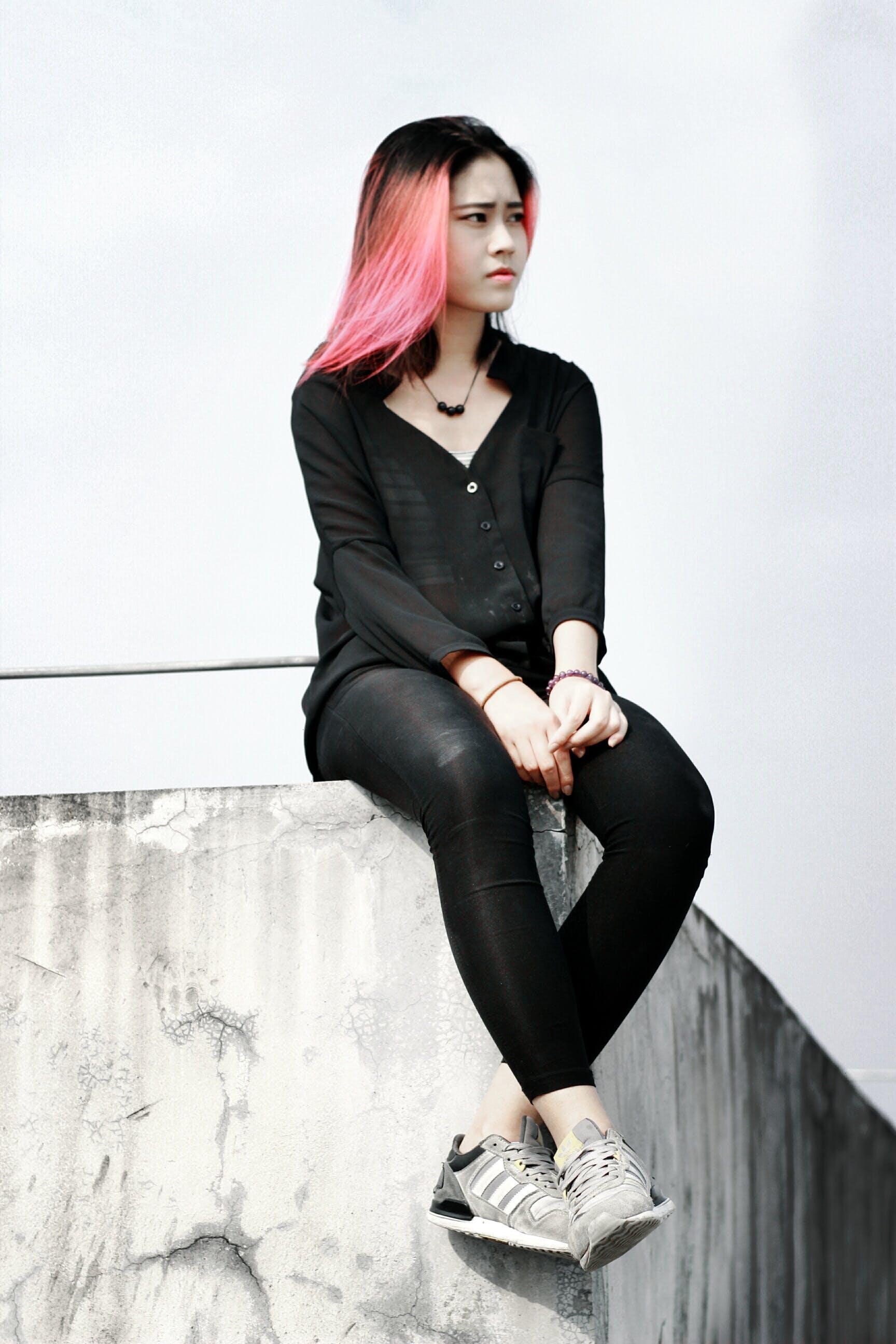 Free stock photo of woman, model, figure, sad