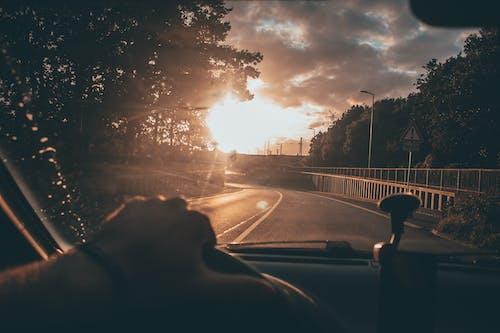 交通系統, 旅行, 日出, 日落 的 免費圖庫相片