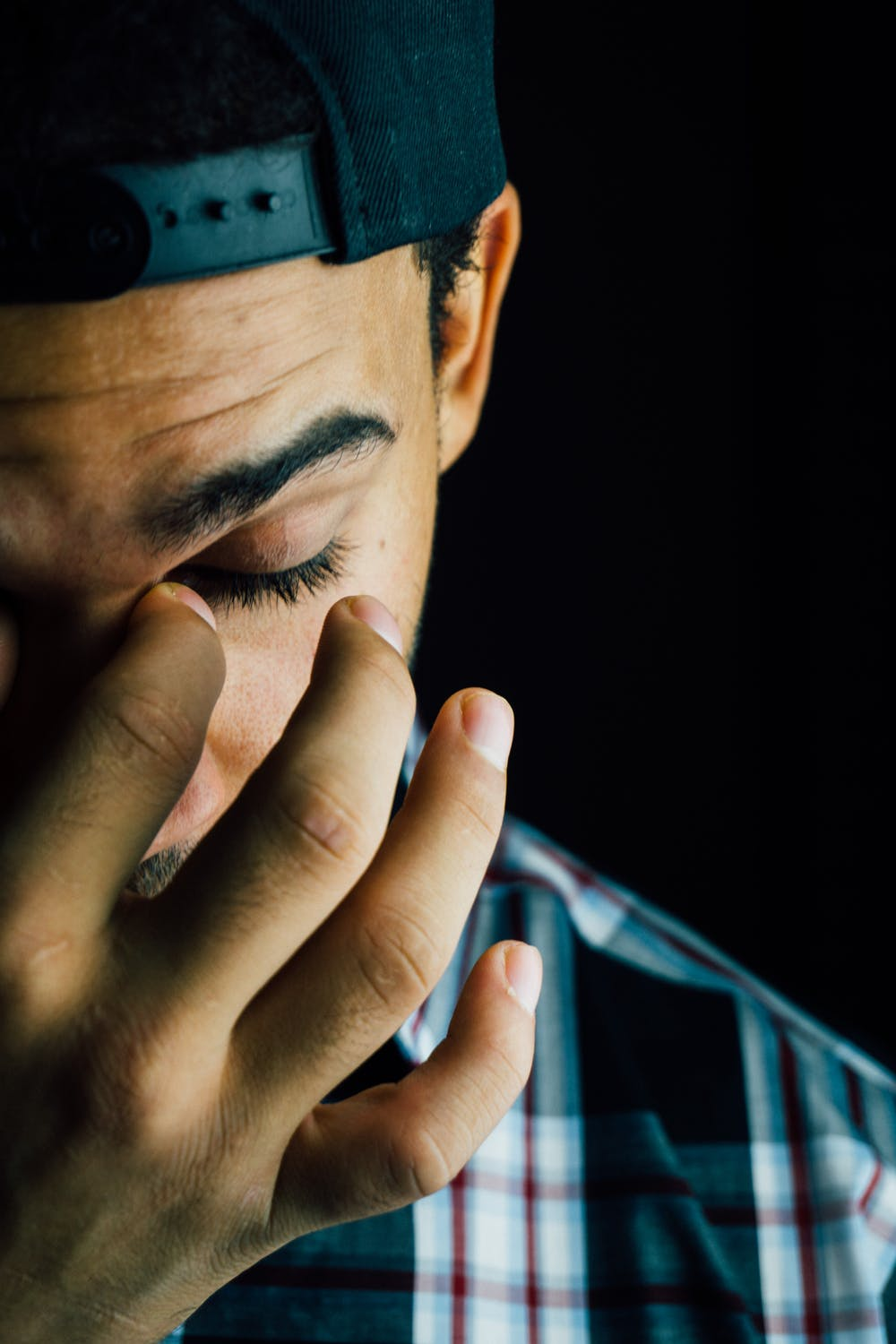 Man crying | Photo: Pexels