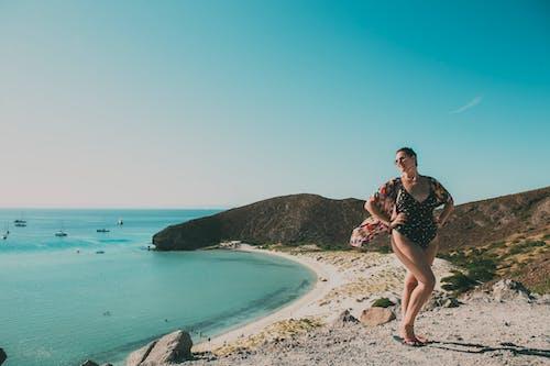 คลังภาพถ่ายฟรี ของ playa balandra, คน, ชายทะเล, ชายฝั่ง