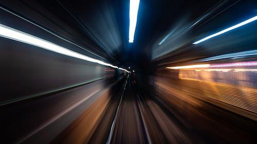 Photos gratuites de chemin de fer, chicago, gare, longue exposition