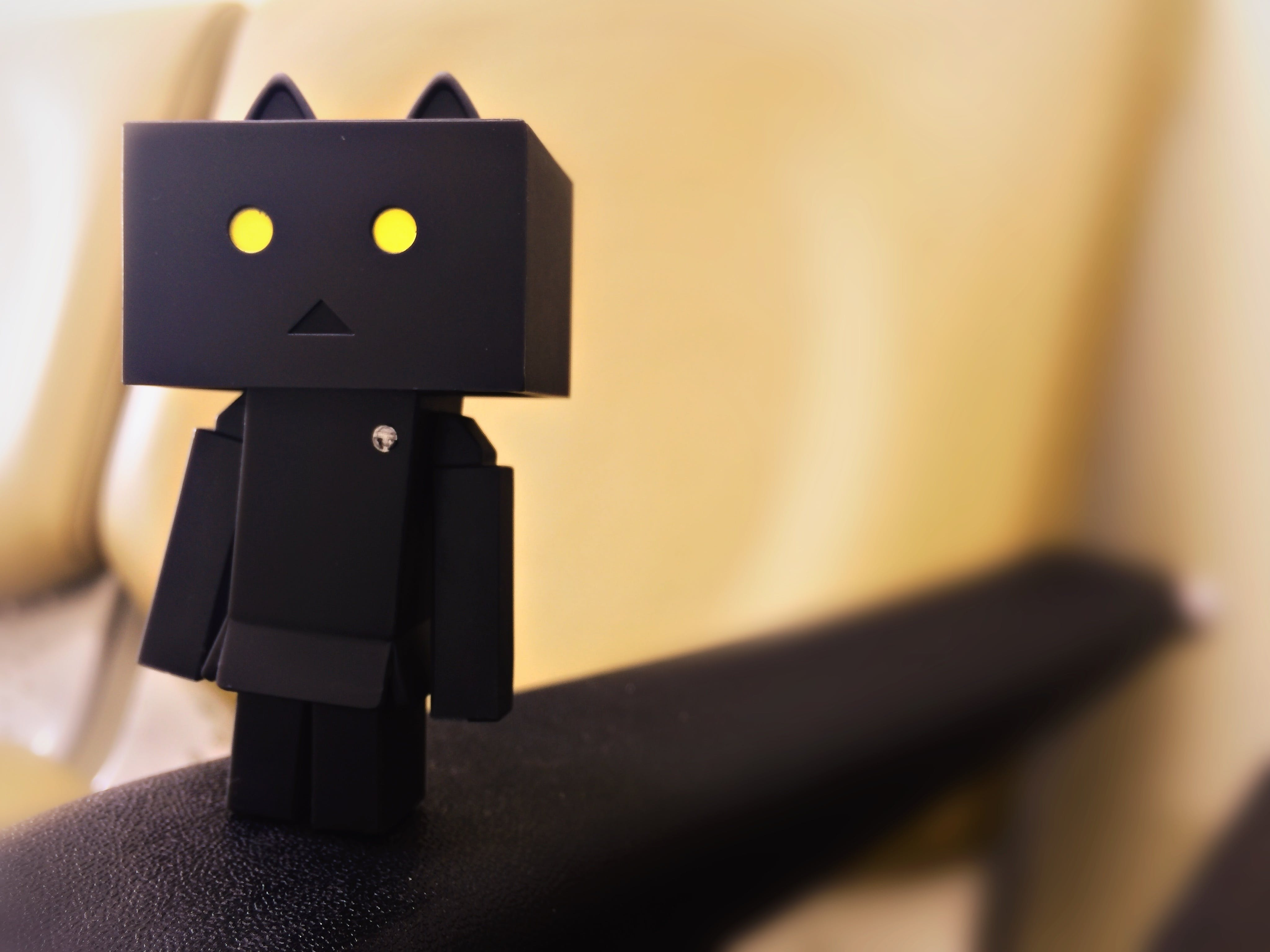 Black Danbo Wallpaper