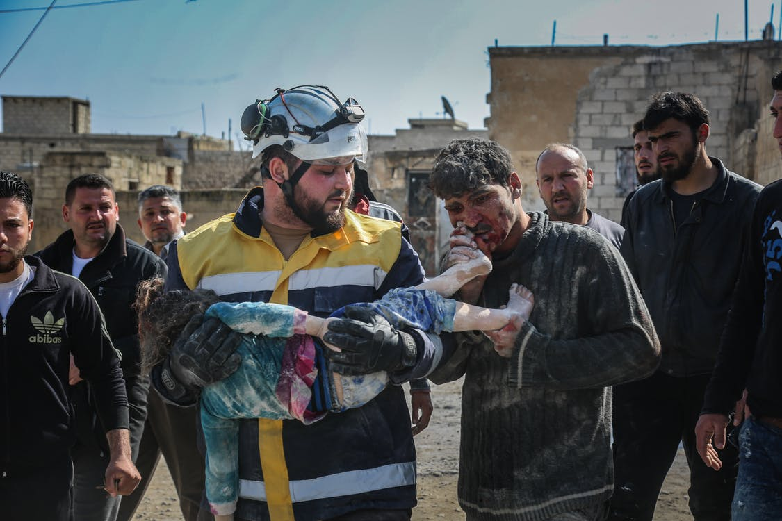 assad terorista, bolest, bombardovat