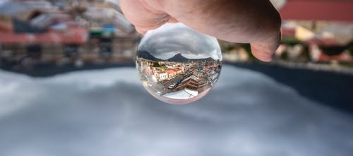 Free stock photo of Cape Town, city, clouds, Lensball