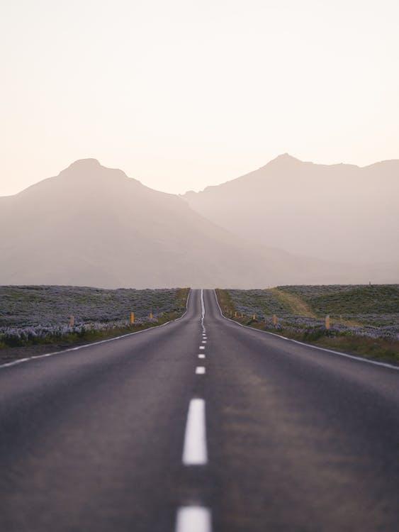 asfalt, autostradă, călătorie