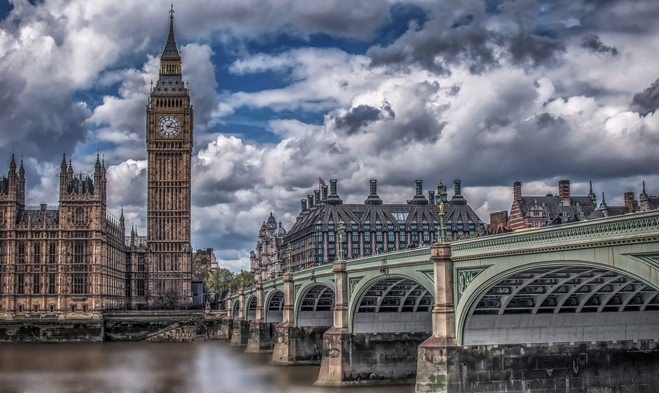 architecture, big ben, bridge
