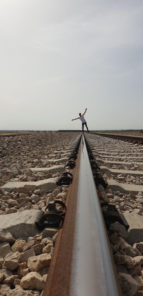Ảnh lưu trữ miễn phí về đường ray xe lửa
