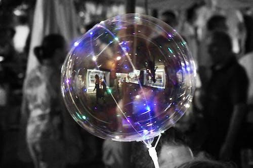 Ingyenes stockfotó ballon, fények, visszaverődés témában
