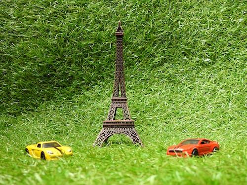 Ingyenes stockfotó autó, autók, Eiffel-torony, emlékmű témában