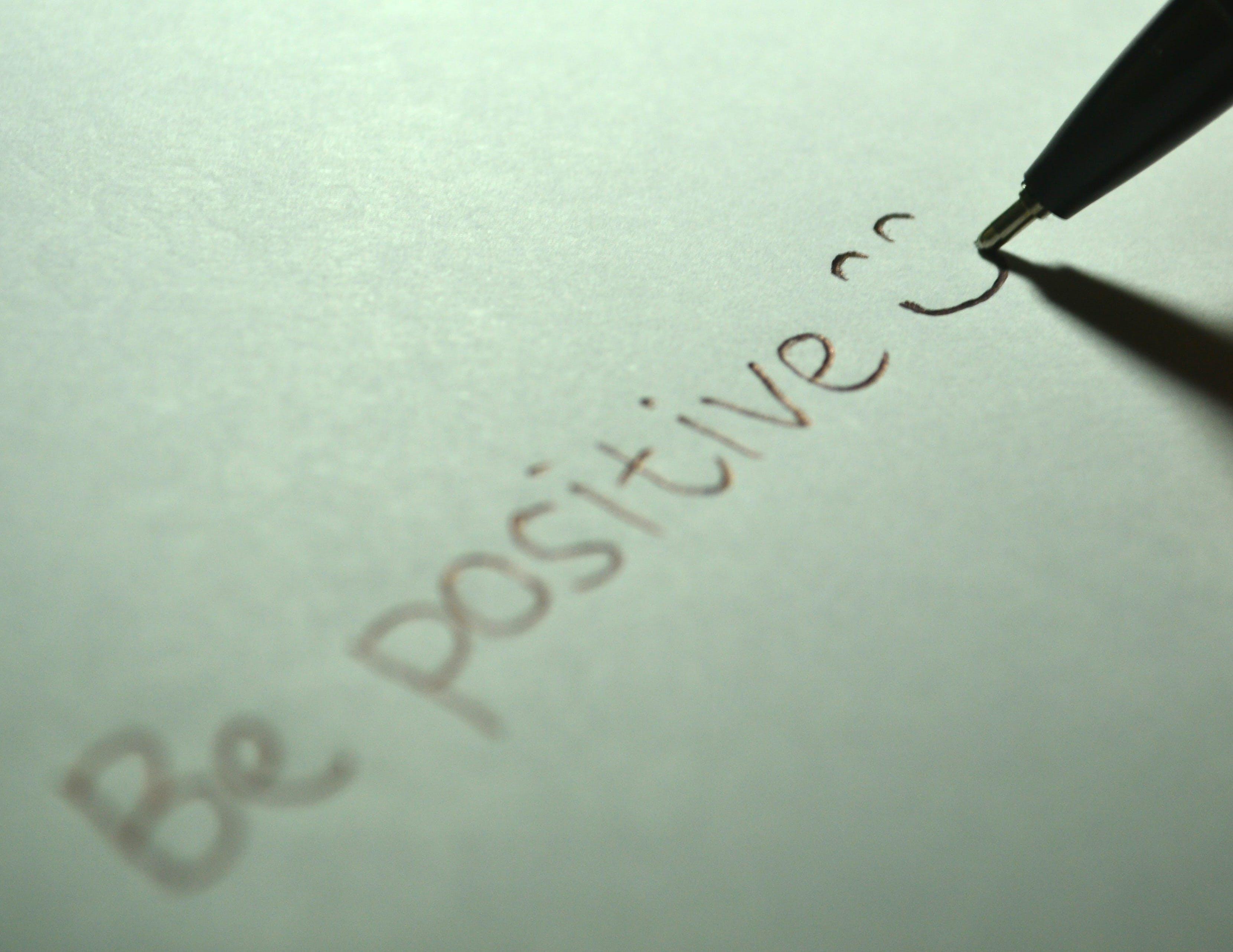 attitude, be positive, draw