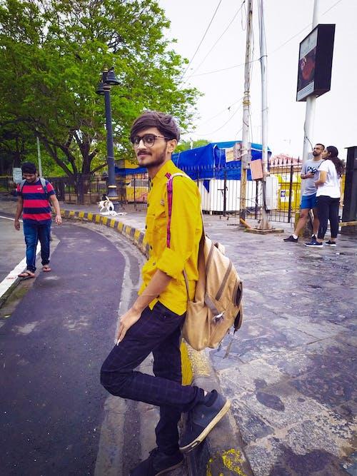 คลังภาพถ่ายฟรี ของ นางแบบแฟชั่น, ภาพสต็อก, เสื้อเหลือง, โอเค bhargav