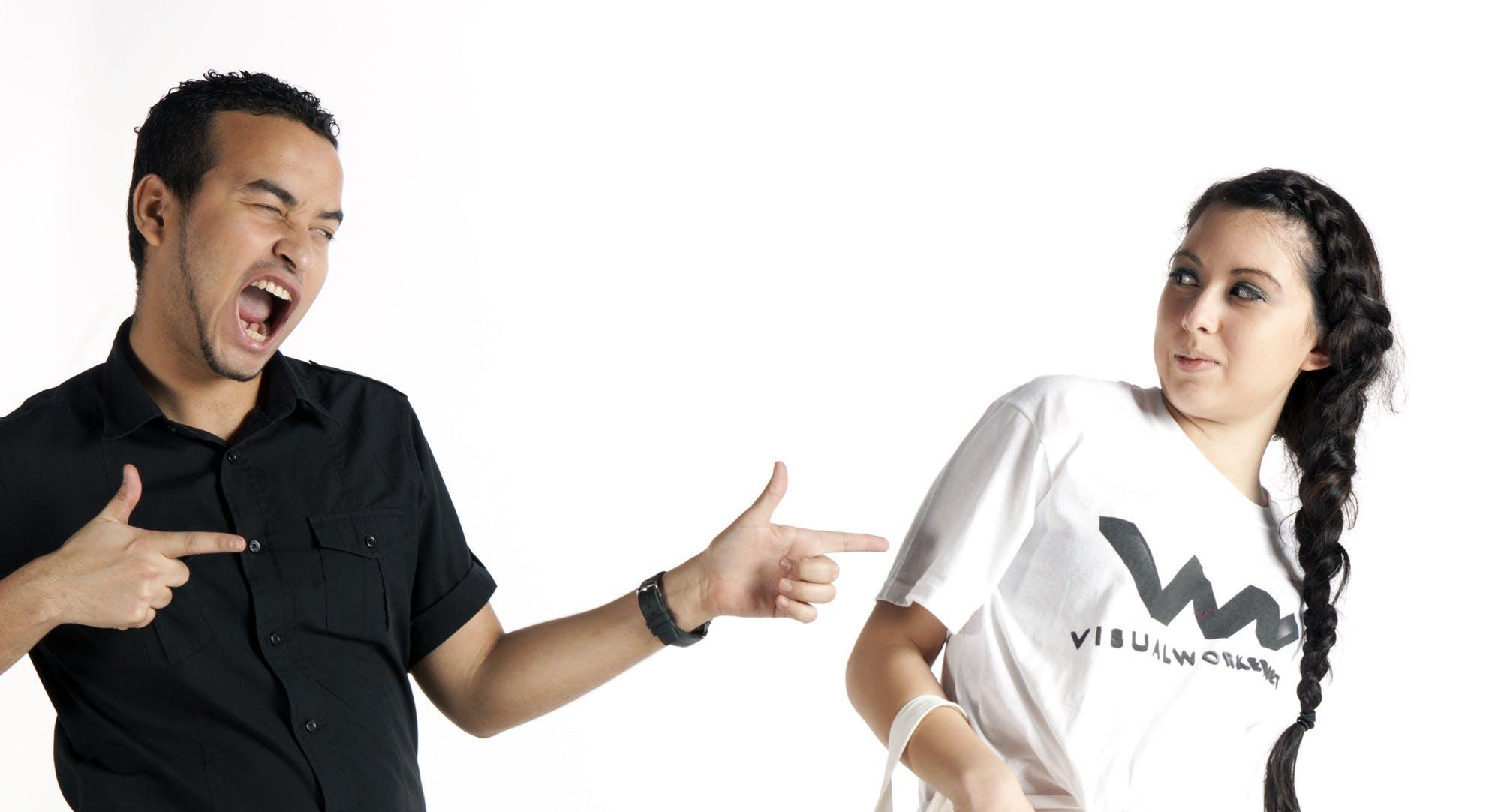 Free stock photo of attractive, black, black t-shirt, blank