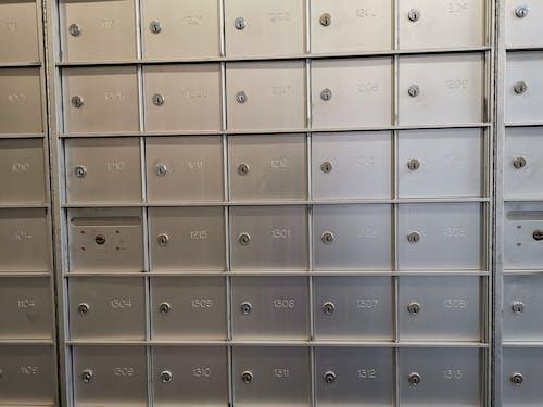 Free stock photo of apartment, mailboxes, postal