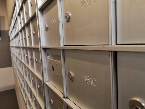 Free stock photo of apartment, mailbox, postal