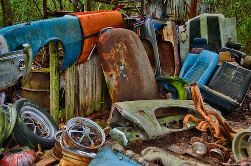 Scrap Metal Part Of Vehicles