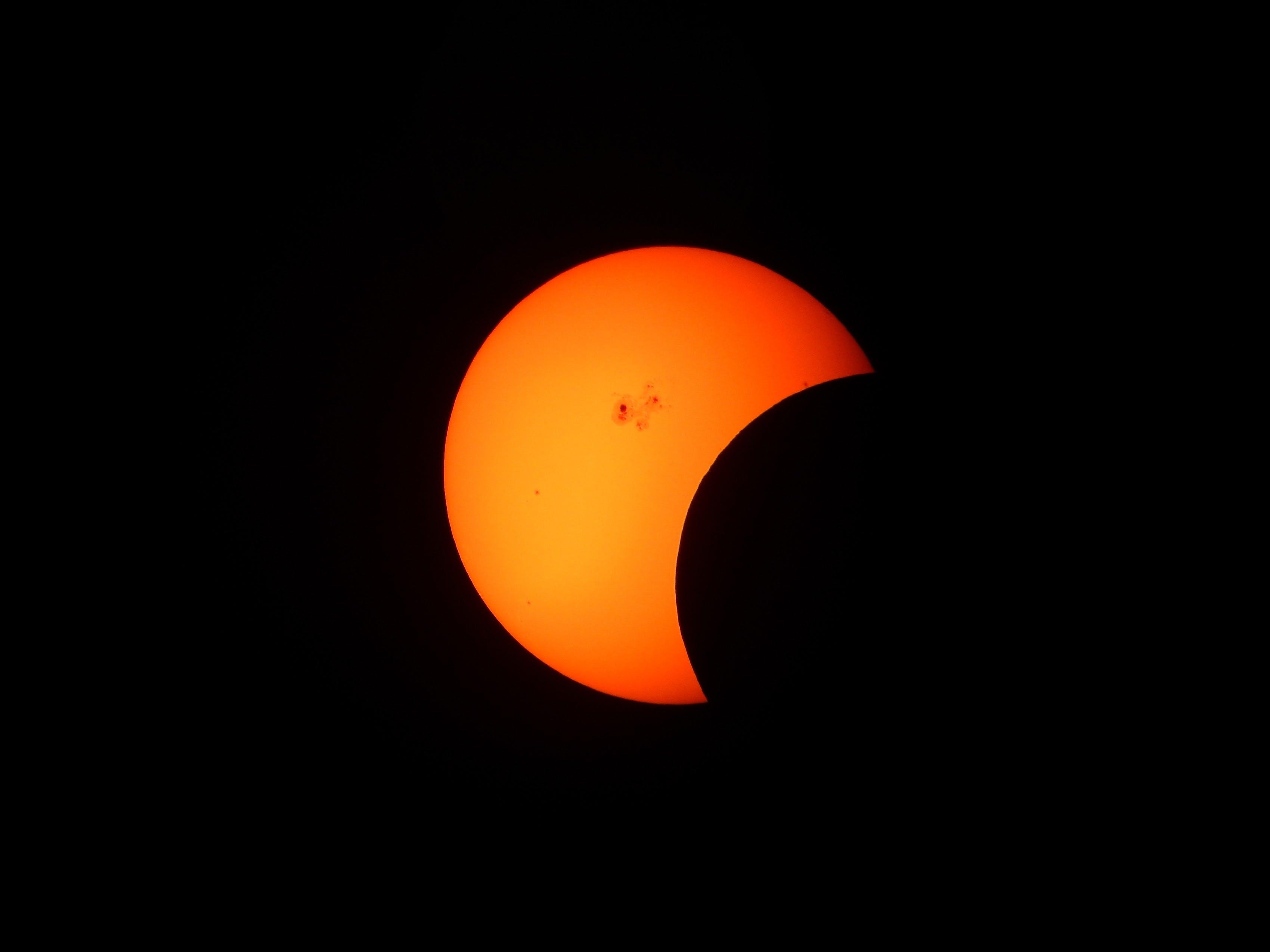 Free stock photo of sky, night, space, sun