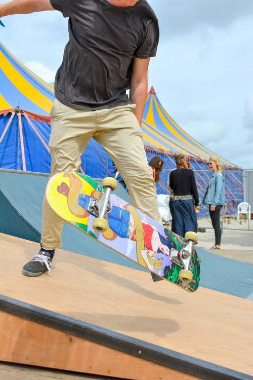 Free stock photo of MadNes Festival, skateboard, skateboarder