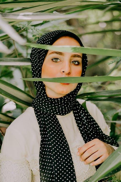 Free stock photo of fashion photography, flower girl, hijab