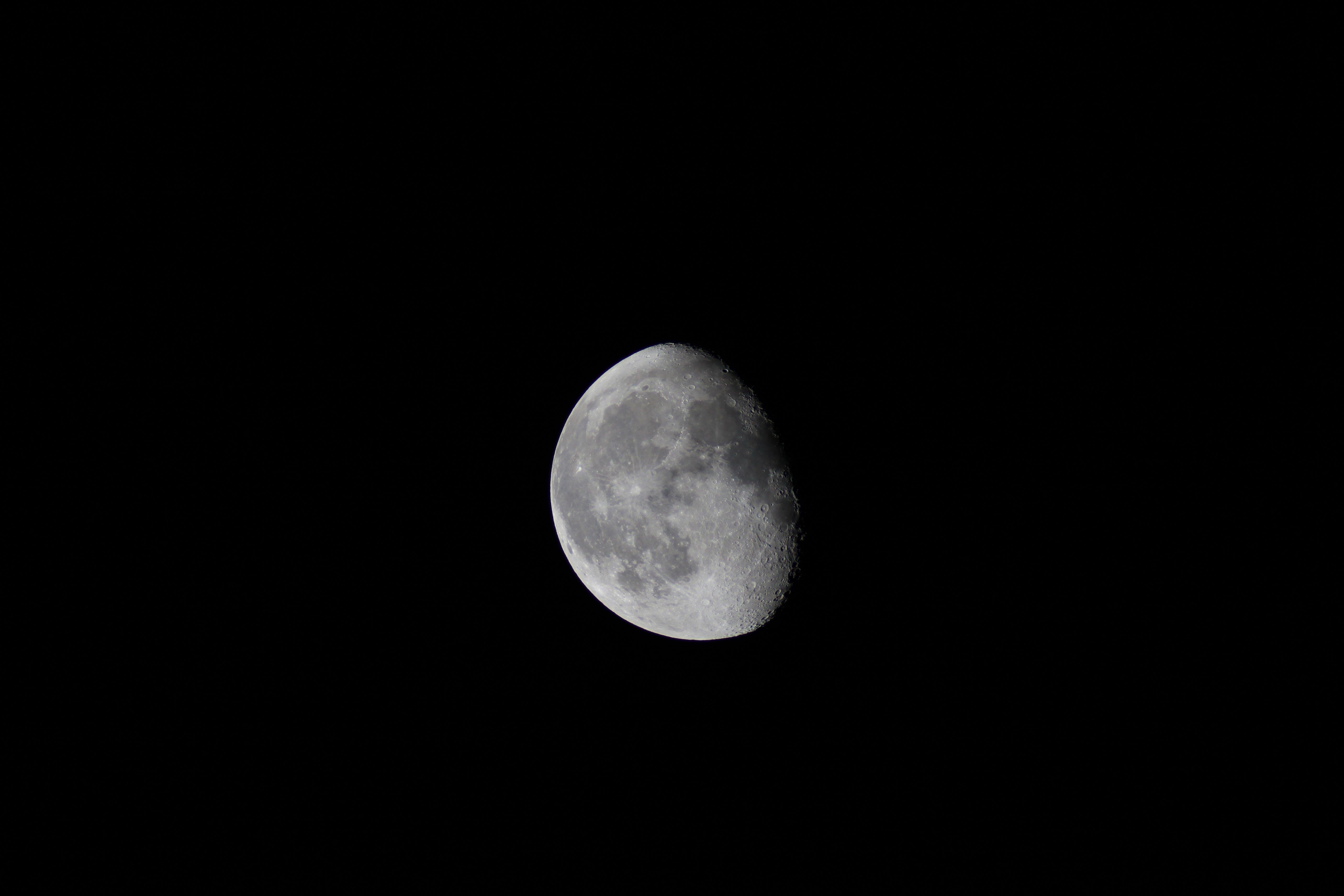 Free stock photo of sky, night, space, moon