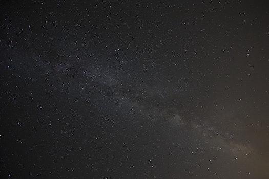 Kostenloses Stock Foto zu himmel, nacht, dunkel, galaxie