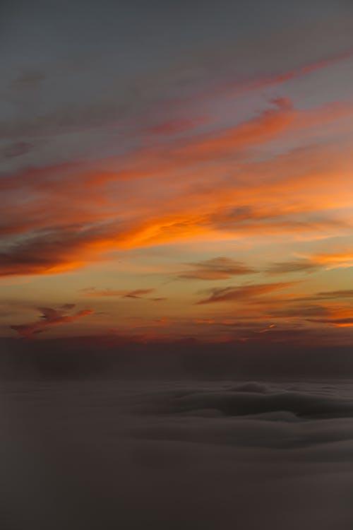 Photo of Orange Clouds