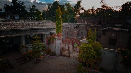 傍晚的天空, 在家外面, 季節, 家 的 免費圖庫相片