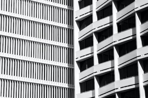 Kostenloses Stock Foto zu architektur, bürogebäude außen, bürogebäude, büros