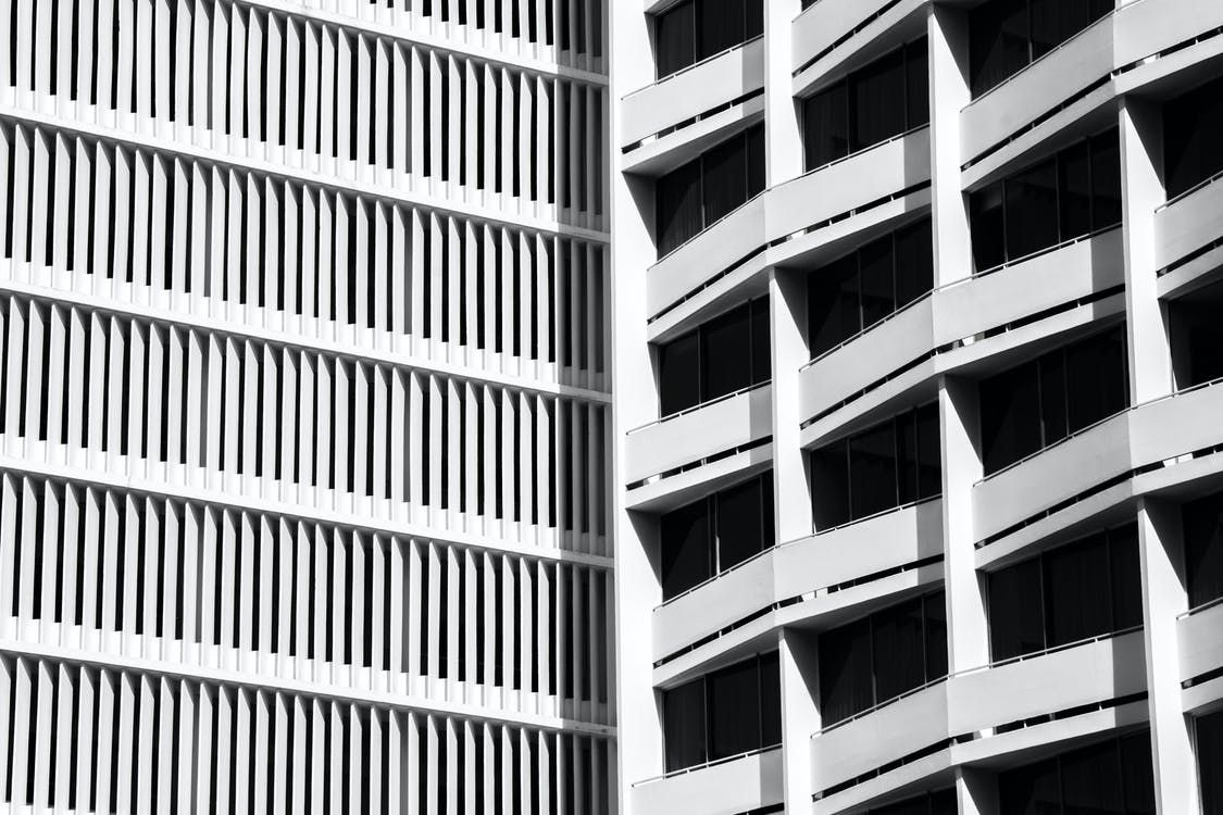 αρχιτεκτονική, γραφεία, εξωτερικό κτηρίου