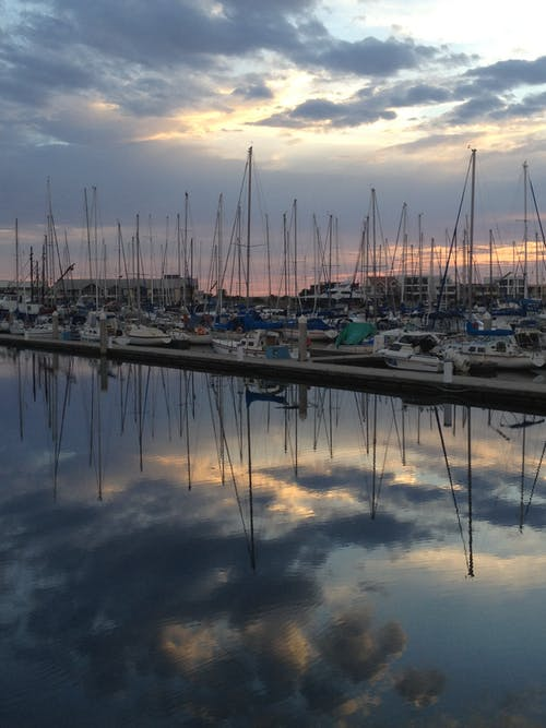 Free stock photo of North Haven Marina
