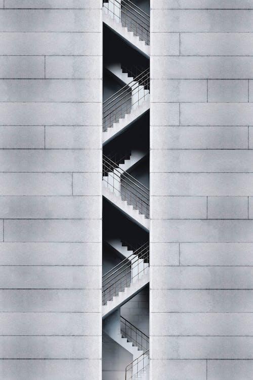 Бесплатное стоковое фото с архитектура, Архитектурное проектирование, бетон, здание