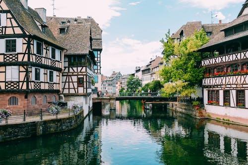 Fotos de stock gratuitas de arquitectura, canal, ciudad, pueblo
