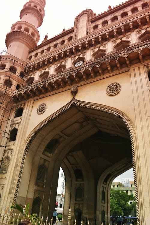 Photos gratuites de 4 piliers, centre-ville, charminar, colonnes