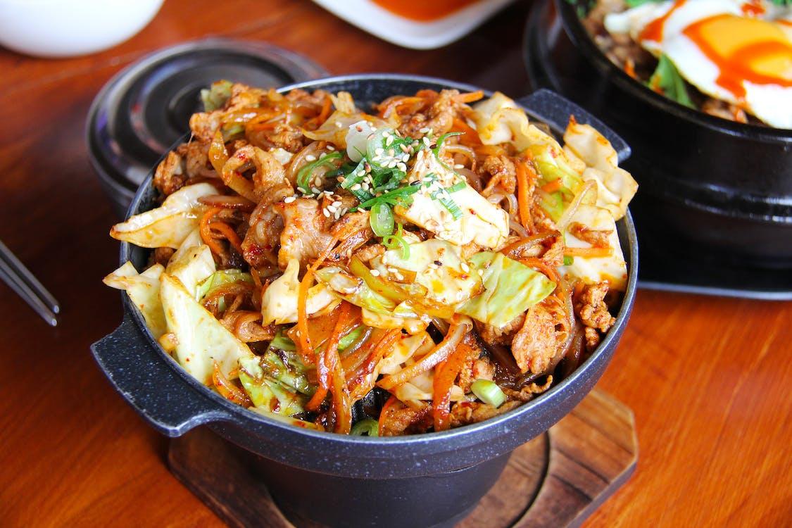 aliments, assiette, bœuf