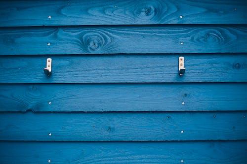 Free stock photo of beach hut, blue, hut, locker room