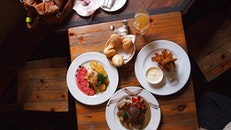 food, healthy, restaurant