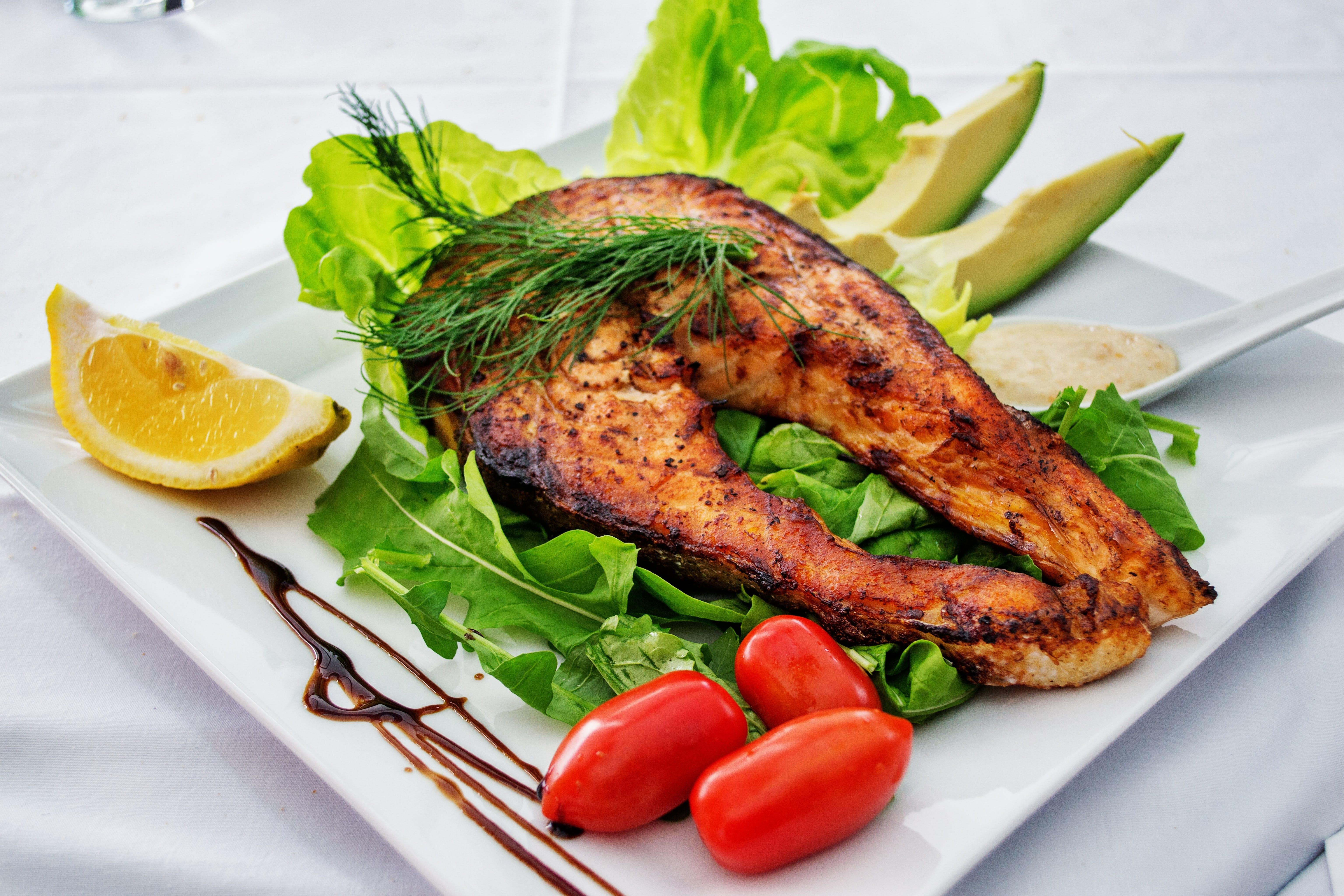 Fish Salad Dish