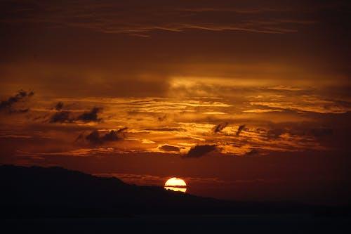 Gratis stockfoto met achtergrondlicht, dageraad, gouden uur, hemel