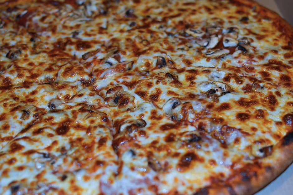 cheese, close-up, crust
