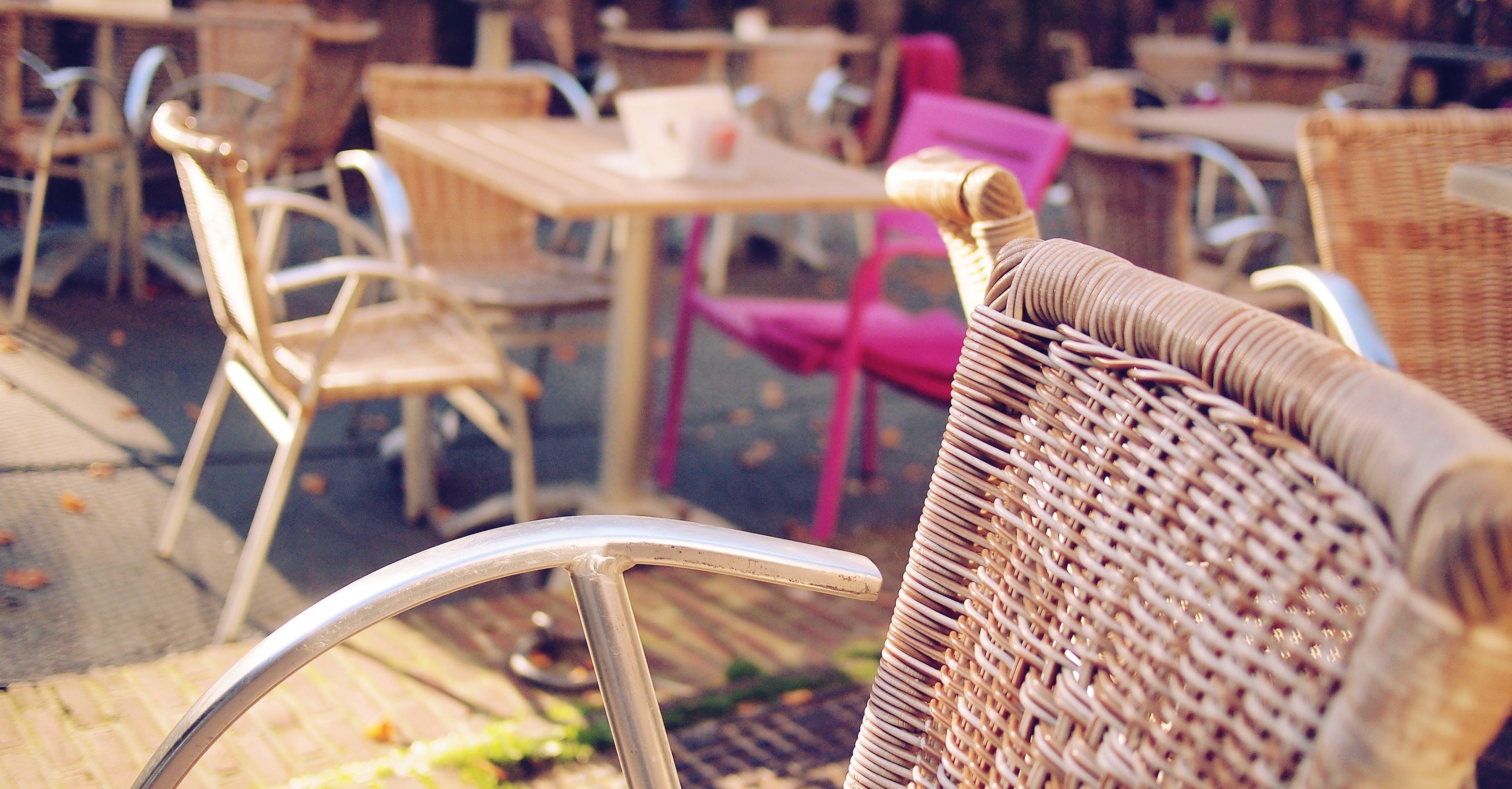 autumn, basket, blur